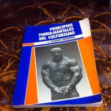 Coleccionismo deportivo: CLEMENTE HERNÁNDEZ. PRINCIPIOS FUNDAMENTALES DEL CULTURISMO. 1988. Lote 277071428