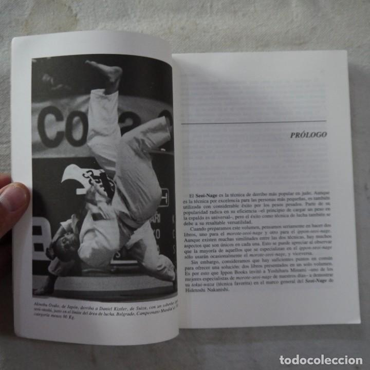 Coleccionismo deportivo: SEOI-NAGE - HIDETOSHI NAKANISHI - EDITORIAL PAIDOTRIBO - 1994 - 1.ª EDICION - Foto 4 - 277605123
