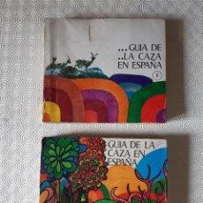Coleccionismo deportivo: GUIA DE LA CAZA EN ESPAÑA 1969. 2 TOMOS. MINISTERIO DE INFORMACION Y TURISMO.. Lote 278561773