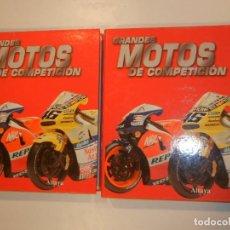 Coleccionismo deportivo: GRANDES MOTOS DE COMPETICION ALTAYA 2 TOMOS COMPLETO. Lote 278761568