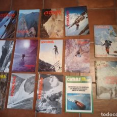 Coleccionismo deportivo: LOTE REVISTAS ALPINISMO MONTAÑISMO PIORNAL CIMAS EXTREM DESNIVEL. Lote 278801048