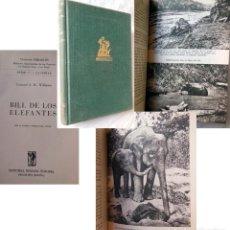 Coleccionismo deportivo: BILL DE LOS ELEFANTES. 1956 CORONEL J.H. WILLIAMS. Lote 278804198