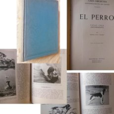Coleccionismo deportivo: EL PERRO (RAZAS, CRIA, ADIESTRAMIENTO) 1961 ARISTIDES NONELL MARTINEZ. Lote 278804458