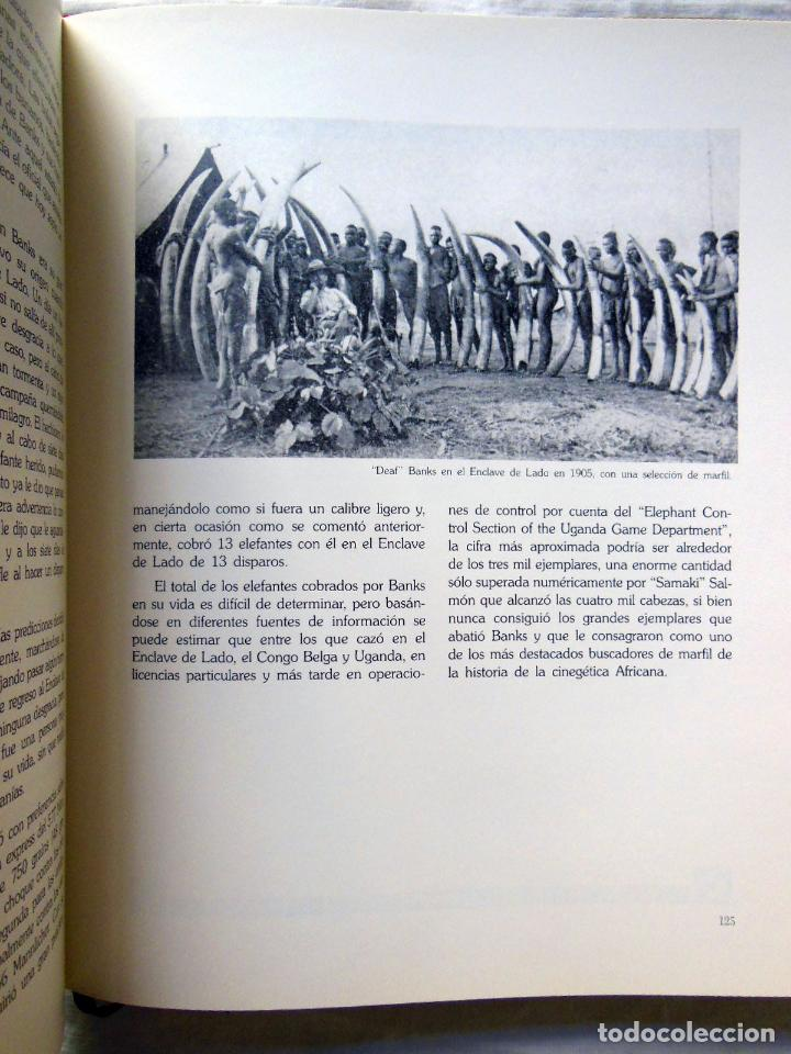 Coleccionismo deportivo: CAZADORES DE ELEFANTES. HOMBRES DE LEYENDA. 2003 TONY SANCHEZ-ARIÑO - Foto 3 - 278807133