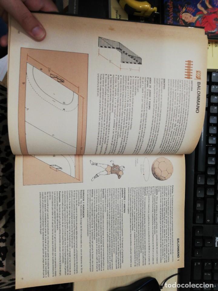 Coleccionismo deportivo: ENCICLOPEDIA COMPLETA DE LOS DEPORTES. DIAGRAM GROUP. EDAF. 1984 - Foto 4 - 278826263