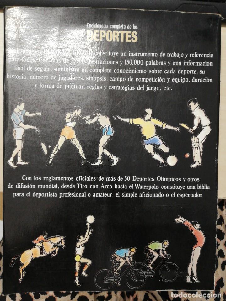 Coleccionismo deportivo: ENCICLOPEDIA COMPLETA DE LOS DEPORTES. DIAGRAM GROUP. EDAF. 1984 - Foto 5 - 278826263