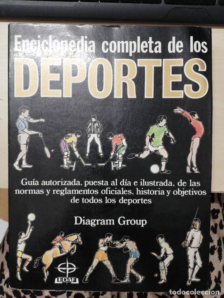 ENCICLOPEDIA COMPLETA DE LOS DEPORTES. DIAGRAM GROUP. EDAF. 1984 (Coleccionismo Deportivo - Libros de Deportes - Otros)
