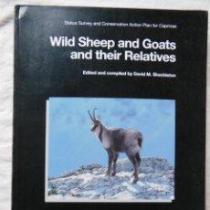 Coleccionismo deportivo: WILD SHEEP AND GOATS AND THEIR RELATIVES ( OVEJAS Y CABRAS SALVAJES Y SUS FAMILIARES) 1997. Lote 287308613