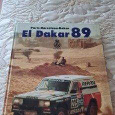 Coleccionismo deportivo: LIBRO EL DAKAR 89. PARIS-BARCELONA-DAKAR. Lote 287889058