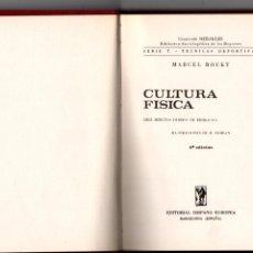 Coleccionismo deportivo: CULTURA FISICA. DIEZ MINUTOS DIARIOS DE EJERCICIOS. MARCEL ROUET. EDITORIAL HISPANO EUROPEA, 1968. Lote 287930103