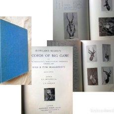 Coleccionismo deportivo: ROWLAND WARD'S RECORDS OF BIG GAME. 1928 J.G. DOLLMAN Y J.B. BURLACE. Lote 289464513
