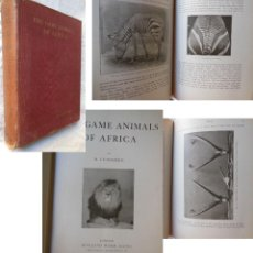 Coleccionismo deportivo: THE GAME ANIMALS OF AFRICA. 1908 R. LYDEKKER. Lote 289848163