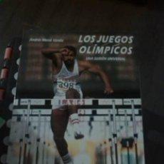 Coleccionismo deportivo: LOS JUEGOS OLÍMPICOS. UNA ILUSIÓN UNIVERSAL. ANDRÉS MERCÉ VARELA. EDICIONS 62. 1988.. Lote 294504778