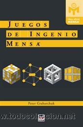 PASATIEMPOS. JUEGOS DE INGENIO MENSA - PETER GRABARCHUK (Libros Nuevos - Ocio - Deportes y Juegos)