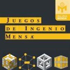 Libros: PASATIEMPOS. JUEGOS DE INGENIO MENSA - PETER GRABARCHUK. Lote 42701457