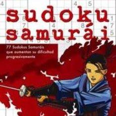 Libros: JUEGOS. PASATIEMPOS. SUDOKU SAMURÁI - CONCEPTIS PUZZLES. Lote 42710488