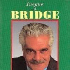 Libros: JUEGUE AL BRIDGE CON OMAR SHARIF - OMAR SHARIF. Lote 43162057