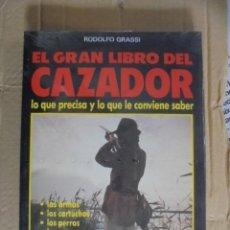 Libros: EL GRAN LIBRO DEL CAZADOR - CAZA - GRASSI - PROFUSAMENTE ILUSTRADO - PRECINTADO . Lote 49913392