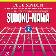 Libros: SUDOKU-MANÍA 2 - PETE SINDEN. Lote 57810132