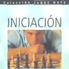 Libros: INICIACIÓN AL AJEDREZ (JAQUE MATE) HISPANO EUROPEA. Lote 70894207