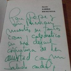 Libros: FUTBOL Y OTROS. EL BISTURÍ. JOSE MARÍA GARCIA, 1975. DEDICADO POR EL PERIODISTA .. Lote 77738581