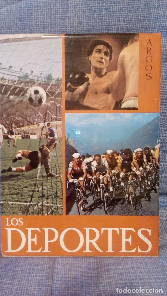 LOS DEPORTES. - EDITORIAL ARGOS 1967 - PRÓLOGO RICARDO ZAMORA 35X24 - 478 PAGINAS - 2,7 KG. (Libros Nuevos - Ocio - Deportes y Juegos)