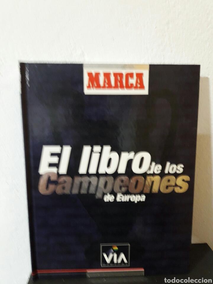 EL LIBRO DE LOS CAMPEONES DE EUROPA MARCA (Libros Nuevos - Ocio - Deportes y Juegos)