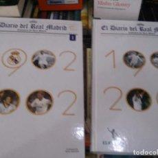 Libros: EL DIARIO DEL REAL MADRID . CENTENARIO. 2 TOMOS 1902L- 2002 . EL MUNDO. Lote 89552144