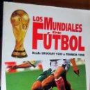 Libros: LOS MUNDIALES DE FUTBOL. DESDE URUGUAY 1930 A FRANCIA 1998 EDITORIAL OCEANO, RÚSTICA, 116 PÁGINAS.. Lote 92451490