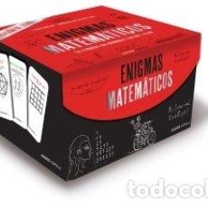 Libros: ENIGMAS MATEMÁTICOS LIBROS CÚPULA. Lote 95397264