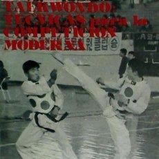 Libros: TAEKWONDO ALAS. Lote 95571031