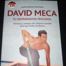 Libros: DAVID MECA TU ENTRENADOR PERSONAL. Lote 95837231