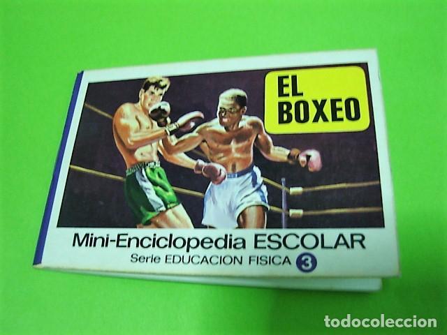 EL BOXEO MINI-ENCICLOPEDIA ESCOLAR BRUGUERA 1972 (Libros Nuevos - Ocio - Deportes y Juegos)
