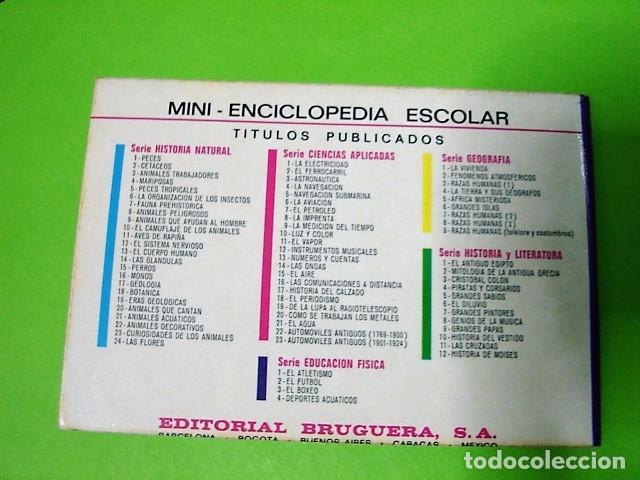 Libros: EL BOXEO MINI-ENCICLOPEDIA ESCOLAR BRUGUERA 1972 - Foto 2 - 106079935