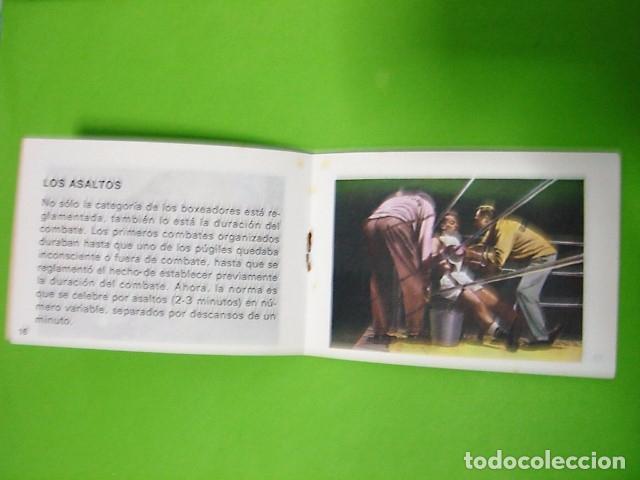 Libros: EL BOXEO MINI-ENCICLOPEDIA ESCOLAR BRUGUERA 1972 - Foto 4 - 106079935
