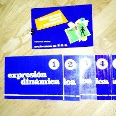 Libros: EDUCACIÓN FÍSICA Y DEPORTE. EDITORIAL BRUÑO. SEXTO CURSO DE E.G.B. 6 TOMOS. EXPRESIÓN DINÁMICA. Lote 107975443