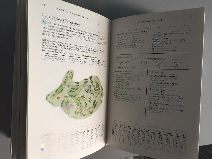 Libros: Campos de Golf, España, por Lorenzo de Medici, editorial Belaqua/carroggio - Foto 2 - 71478859