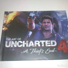 Libros: THE ART OF UNCHARTED 4 . Lote 109414299