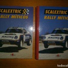 Libros: 2 TOMOS NUEVOS SCALEXTRIC. Lote 113051199