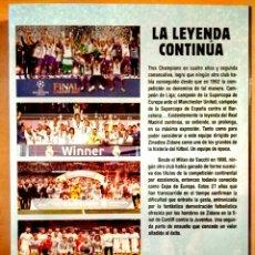 Libros: LIBRO REAL MADRID, LA LEYENDA CONTINUA. Lote 113483587