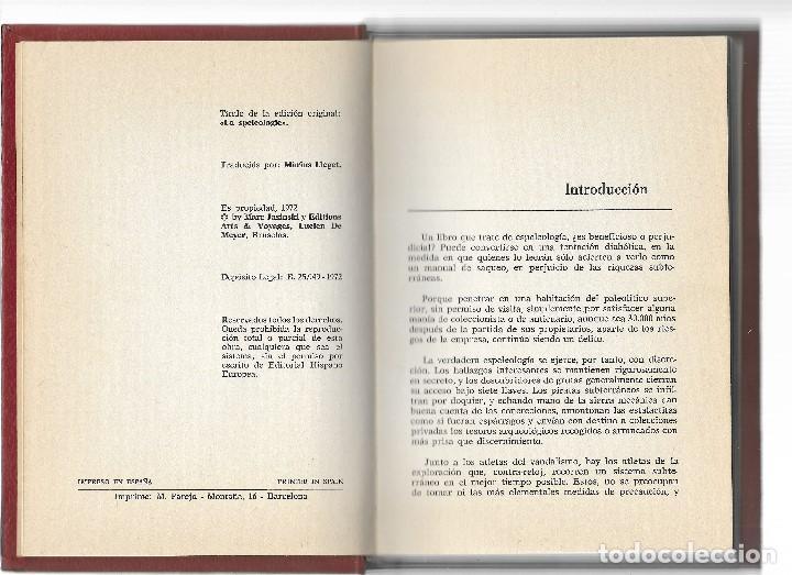 Libros: LIBRO - ESPELEOLOGIA - EL ALPINISMO DE LAS PROFUNDIDADES - M.JASINSKI - AÑO 1972 - Foto 3 - 114453851