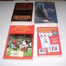 Libros: LOTE DE LIBROS LECTURA Y ANUARIOS DE FUTBOL. Lote 117740003