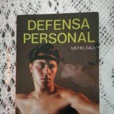 Libros: LIBRO DE DEFENSA PERSONAL MICHEL SAUVY. Lote 125227971
