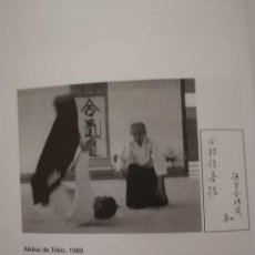 Libros: LIBRO DE AIKIDO MANUAL PARA UNO DE LOS PROFESIONALES . Lote 125228691