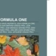 Libros: 2004 IN FORMULA ONE BOOKS LLC. Lote 86789463