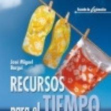 Libros: RECURSOS PARA EL TIEMPO LIBRE / 3 - 3ª EDICIÓN CCS. Lote 70744035