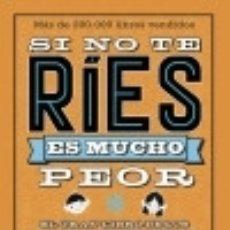 Libros: SI NO TE RÍES, ES MUCHO PEOR. EL GRAN LIBRO DE LOS CHISTES ALFAGUARA INFANTILES Y JUVENILES. Lote 89701814