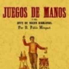 Libros: JUEGOS DE MANOS. Lote 67907986