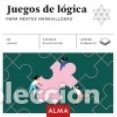 Libros: JUEGOS DE LÓGICA PARA MENTES MARAVILLOSAS (CUADRADOS DE DIVERSIÓN). Lote 128222876