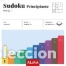 Libros: SUDOKU PRINCIPIANTE. NIVEL 1 (CUADRADOS DE DIVERSIÓN). Lote 128225638